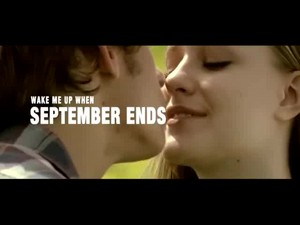 'Wake Me Up When September Ends'