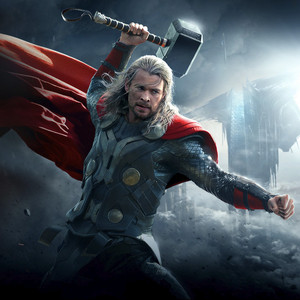 thor and his mighty hammer