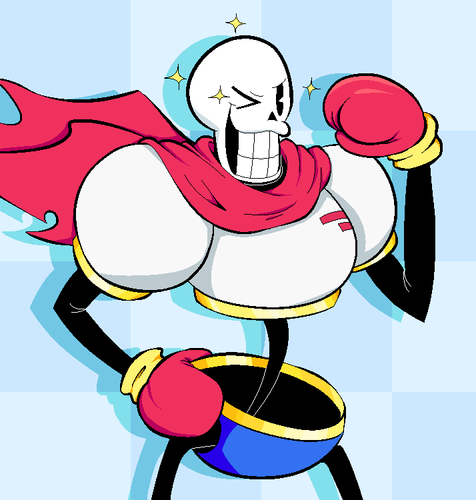 UNDERTALE-The Game wallpaper with anime titled  undertale  papyrus by mastergale d9eh6zt