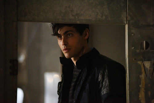Shadowhunters TV Zeigen Hintergrund containing a guillotine titled 1×03 'Dead Man's Party' Promotional Stills