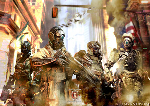 1:6 one sixth scale Original Design Futuristic Military Cyborgs Von Calvin's Custom @ Cyborg Corps