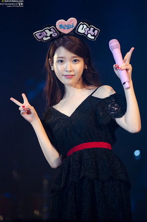 151206 IU 'CHAT-SHIRE' concerto at Daegu