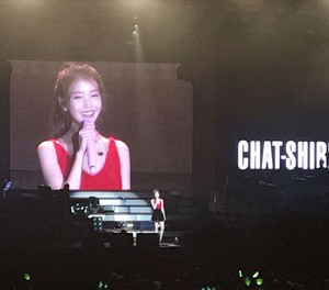 151213 IU 'CHAT-SHIRE' konsert at Gwangju