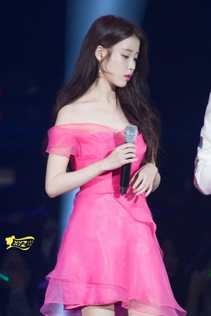 151227 IU at SBS Gayo Daejun