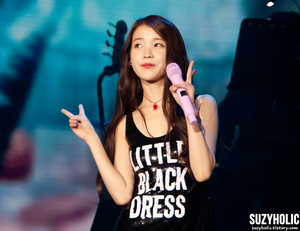 151230 IU 'CHAT-SHIRE' Encore konsiyerto