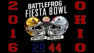 2016 battlefrog fiesta bowl final score