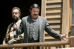 2x01 - A Lie Agreed Upon: Part I - Silas Adams and Al Swearengen