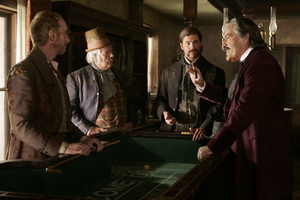 3x08 - Leviathan Smiles - Leon, Con Stapleton, Wyatt Earp and Cy Tolliver