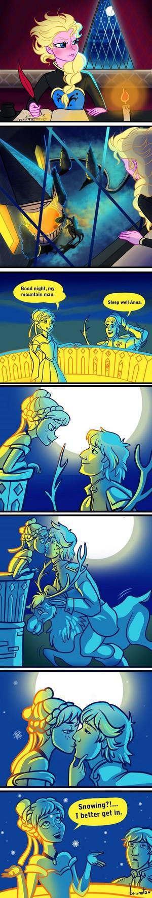 A La Reine des Neiges Story