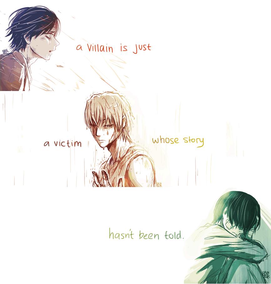 A Villain is...
