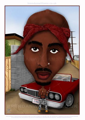 Tupac Shakur fond d'écran entitled A00004 Tupac Shakur
