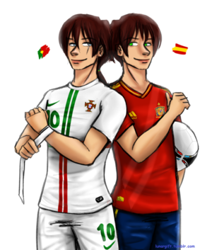 APH Portugal vs Spain. Who do あなた think would win?