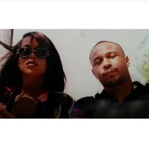 Aaliyah & Karl Kani :)