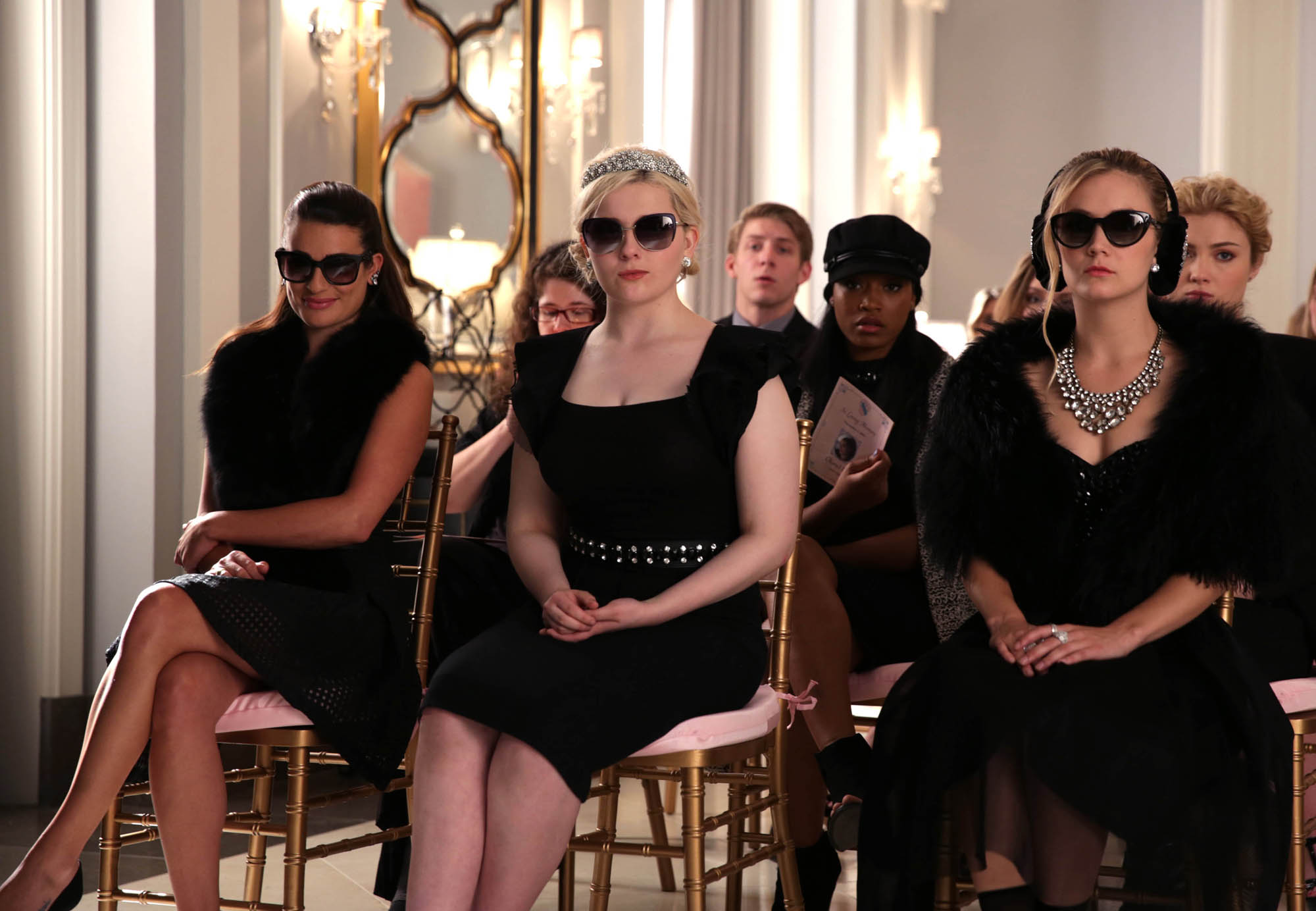 d6b347056a9 Abigail Breslin Hintergrund probably containing sunglasses titled Abigail  Breslin as Chanel 5   Libby Putney in