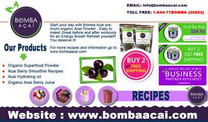 Acai Berries Nutrition