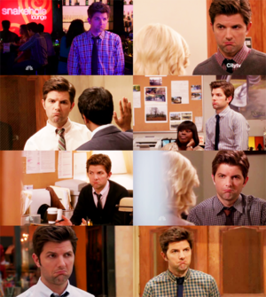 Adam Scott in Parks and Recreation