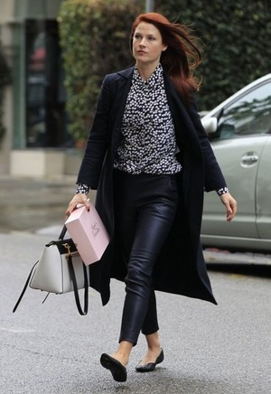 Ali Out and About in Beverly Hills
