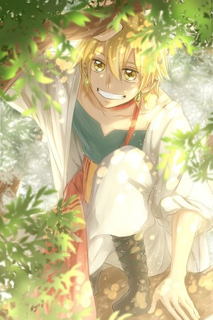 Alibaba Saluja // Magi the Labyrinth of magic