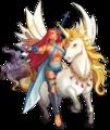 Amazon Unicorn Rider - unicorns fan art