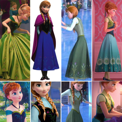 Anna's outfits