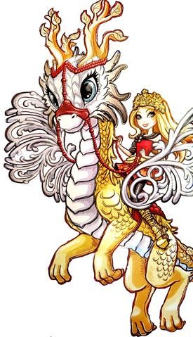manzana, apple White Dragon Games perfil art