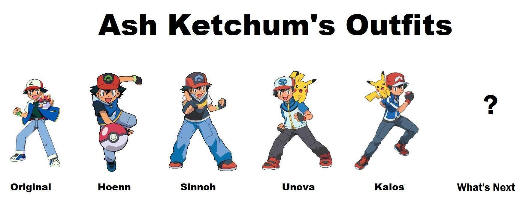 Ash Ketchen's outfits