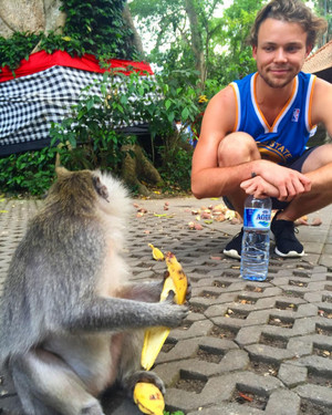 Ash in Bali