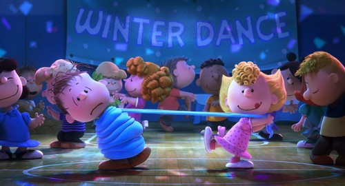 Peanuts wallpaper titled At the Dance