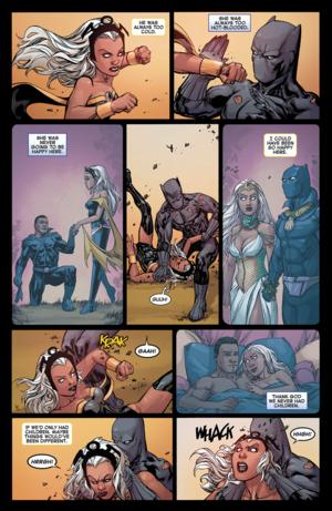 Avengers vs X-Men#2: Storm vs T'Challa_5