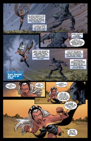 Avengers vs X-Men#2: Storm vs T'Challa_3