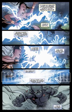 Avengers vs X-Men#2: Storm vs T'Challa_2