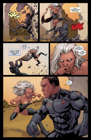 Avengers vs X-Men #2: Storm vs T'Challa_6