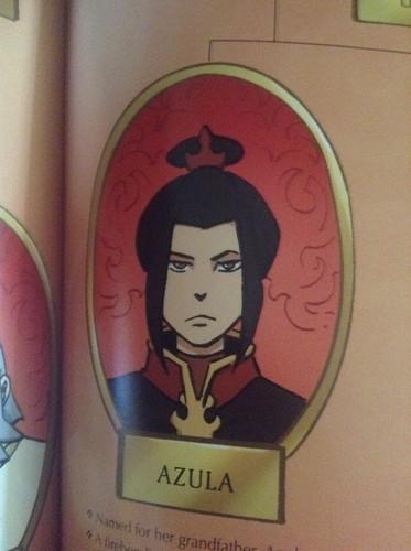 Avatar le dernier maître de l'air fond d'écran called Azula
