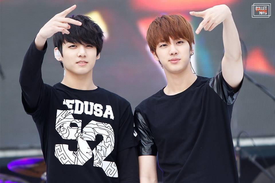 BTS - Jungkook and Jin