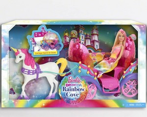 Barbie:Dreamtopia cầu vồng Cove Carriage