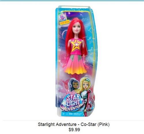 barbie starlight adventure dress