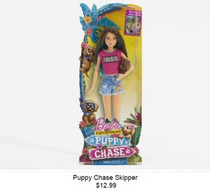 Barbie & Her Sisters in A puppy Chase - Skipper Doll
