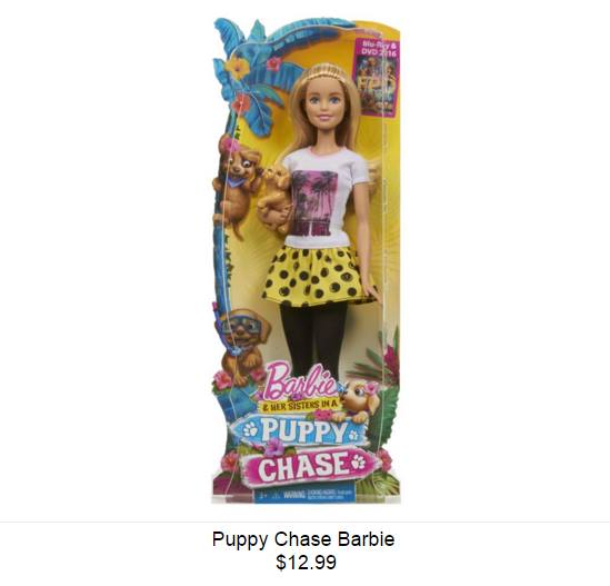 Barbie & Her Sisters in A chiot Chase - Barbie Doll