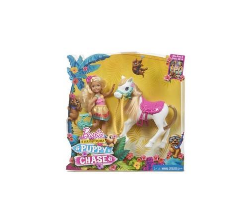 Мультики о Барби Обои called Barbie&her Sisters in a щенок Chase Chelsea doll