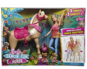 Barbie&her Sisters in a 子犬 Chase Dancin' Fun Horse