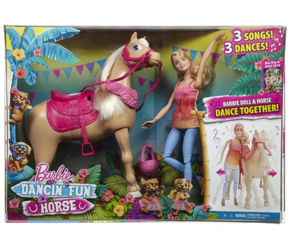Barbie&her Sisters in a Puppy Chase Dancin' Fun Horse