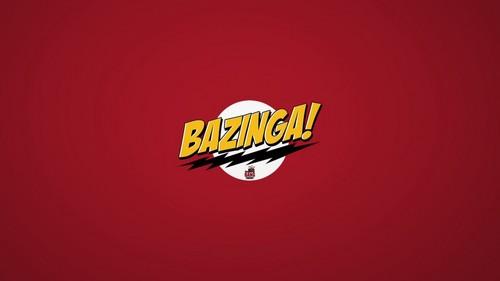 빅뱅이론 바탕화면 probably with a jersey entitled Bazinga!