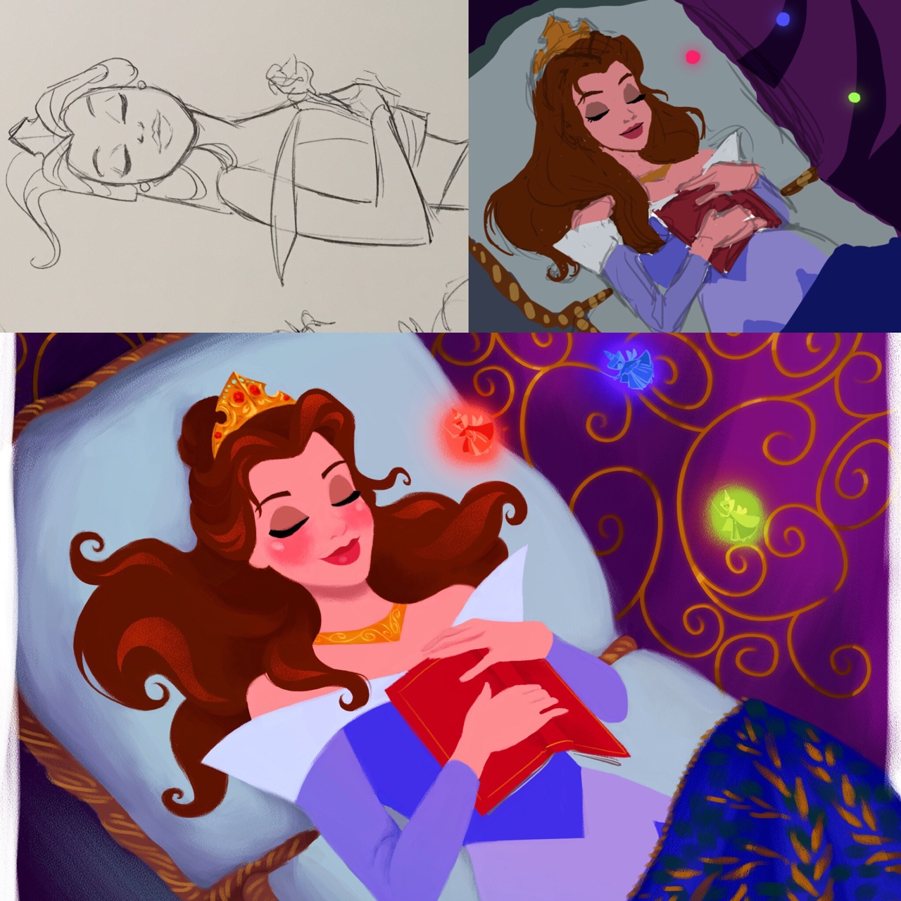 Belle as Aurora