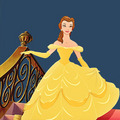 Belle - beauty-and-the-beast fan art