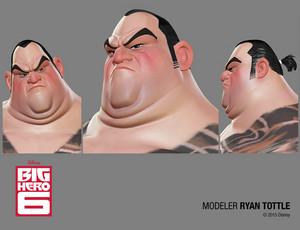 Big Hero 6 मॉडेल
