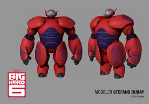 Big Hero 6 Models