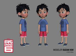 Big Hero 6 模特