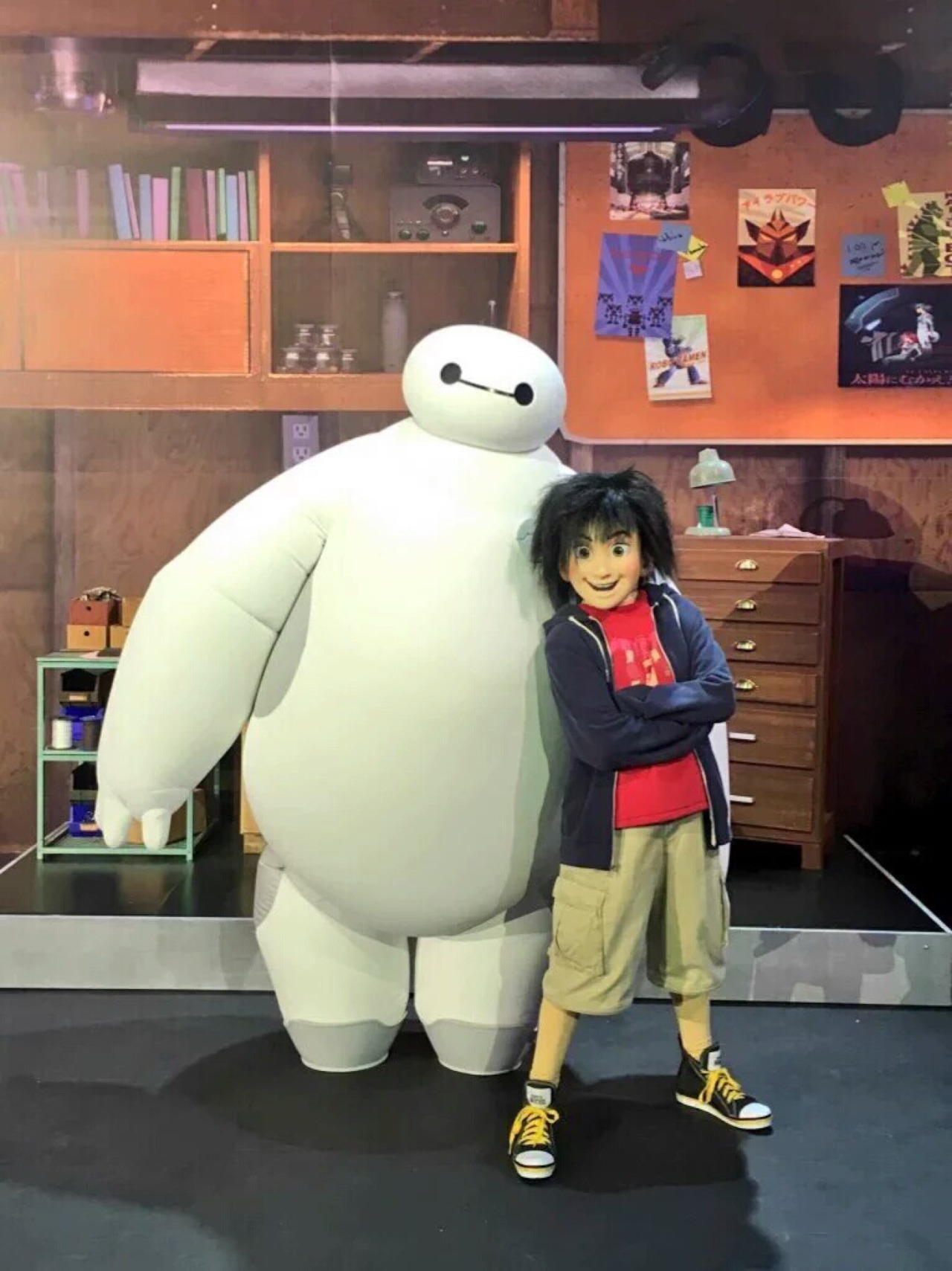 Big Hero 6 characters for a private event/party at Disneyland in Paris