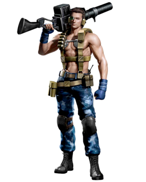 Billy Coen Mercenary Outfit