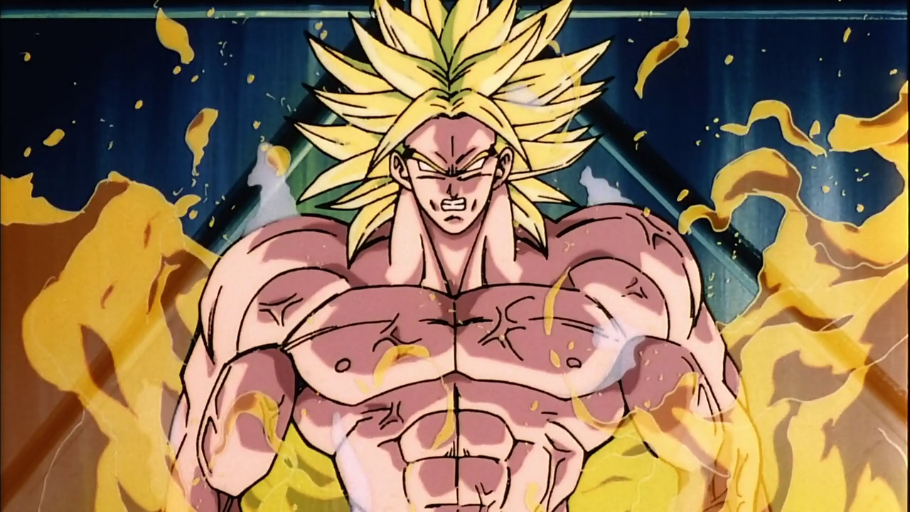 Bio Broly Legendary Super Saiyan